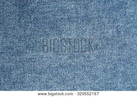 Blue Jeans Fabric. Denim Jeans Texture Or Denim Jeans Background. Denim Jeans For Fashion Design