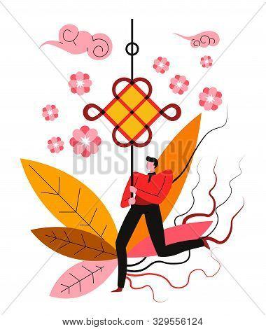 Knot, Chinese New Year Symbol, Feng Shui Mascot