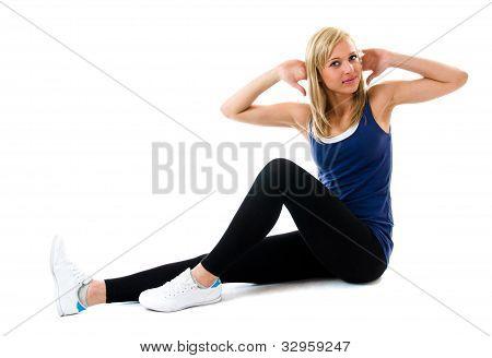 Sit Ups On The  Floor