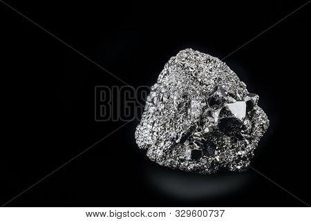 Pyrite Or Pyrite, Also Iron Pyrite Or Iron Pyrite Is An Iron Disulfide, Fes₂. It Has Isometric Cryst