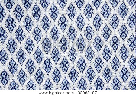 Background Texture And Ornaments Of Carpet.