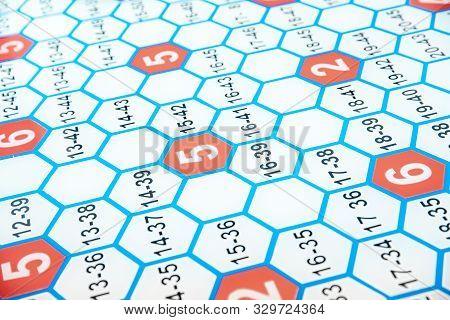 Fragment fuel grid of arrangement elements enrichment with uranium in nuclear reactor poster