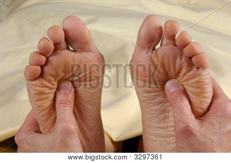Reflexology Treatment Both Feet