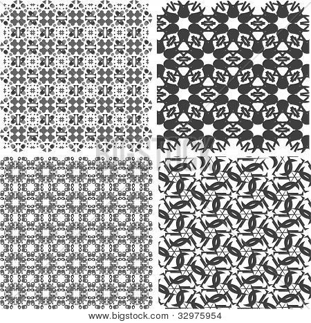 set of vectorial texture islamic design set