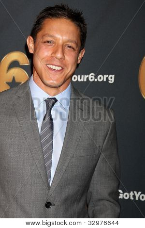 LOS ANGELES - MAY 10:  Theo Rossi arrives at the Launch of Got Your 6  at SAG / AFTRA Headquarters on May 10, 2012 in Los Angeles, CA