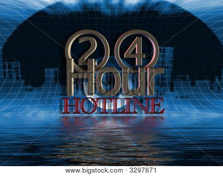 24 Hour Hotline