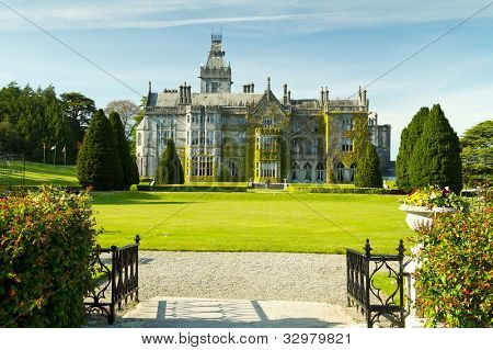 Adare manor and gardens, Co. Limerick, Ireland