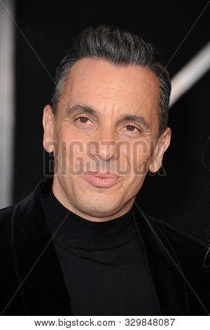 Sebastian Maniscalco at the Los Angeles premiere of 'The Irishman' held at the TCL Chinese Theatre in Hollywood, USA on October 24, 2019.