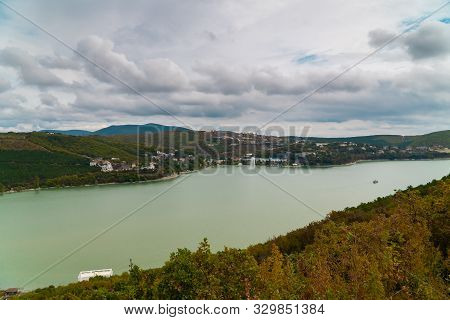 Lake Abrau And Its Attractions In The Vicinity Of Novorossiysk.