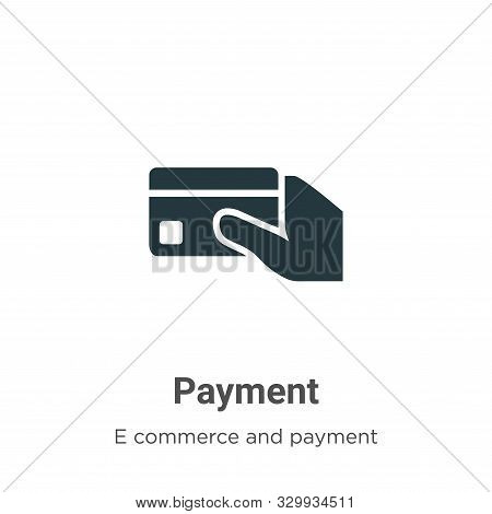 Payment icon isolated on white background from e commerce and payment collection. Payment icon trend
