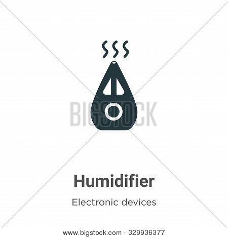 Humidifier icon isolated on white background from electronic devices collection. Humidifier icon tre