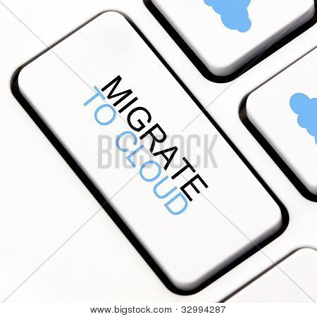 Migrate to cloud keyboard key