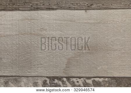 Light Grey And Dark Grey Wood Texture Surface Of Floor, Wall Or Furniture. Made Of Three Horizontal