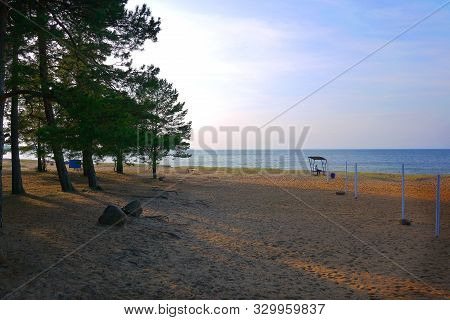 Deserted Baltic Sea In Autumn. Deserted Baltic Sea In Autumn . Deserted Baltic Sea In Autumn