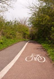 country bike path