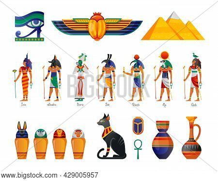 Ancient Egypt Gods Pyramids Mummies Pottery Horus Eye Protective Symbol Scarab Beetle Amulet Worship