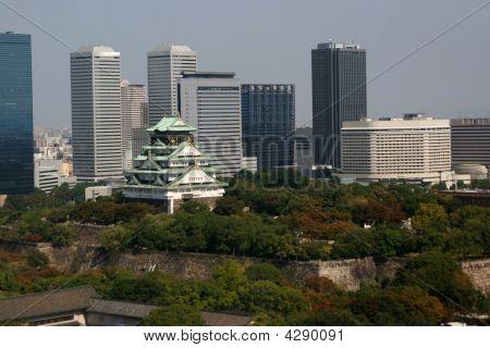 Osaka Castle And City