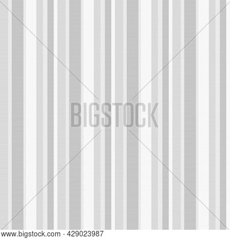 Stripe Pattern. Seamless Line Texture. Geometric Texture With Stripes. Black And White Illustration