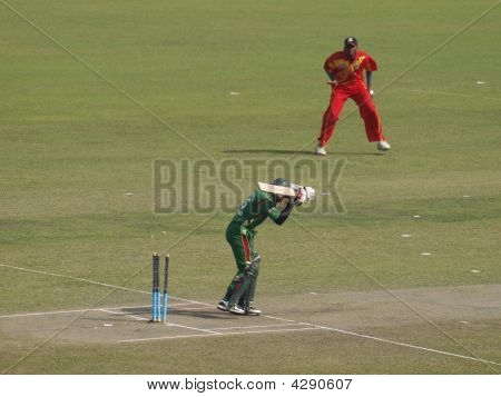 First Wicket - Bangladesh V Zimbabwe, 10Th January 2009