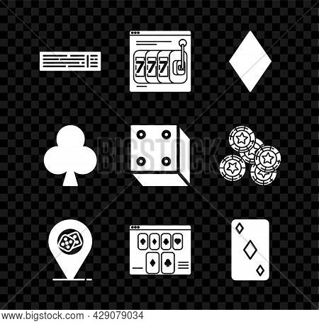 Set Deck Of Playing Cards, Online Slot Machine With Lucky Sevens Jackpot, Playing Diamonds Symbol, C