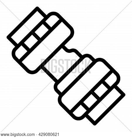 Airplane Seat Belt Icon Outline Vector. Safety Plane. Car Seatbelt