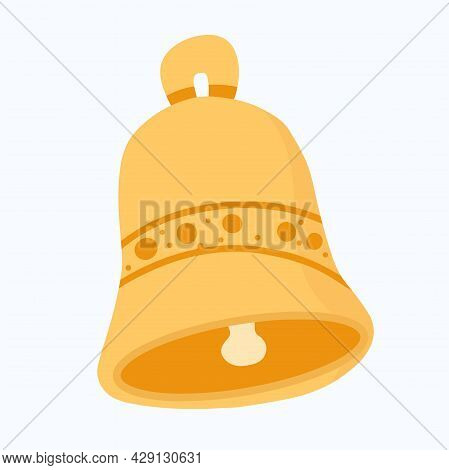 Hand Drawn Ring Bell . Ring Bell Sketch Icon For Infographic, Concept Design. Website Or App. Bell V