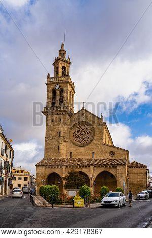 Cordoba, Spain - October 31, 2019: San Lorenzo Church In Cordoba, Andalusia, Spain. It Was Built Bet