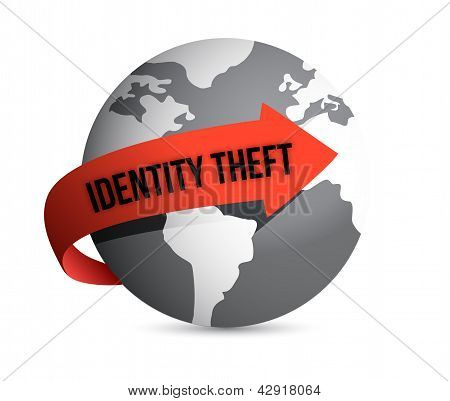 Identity Theft Globe