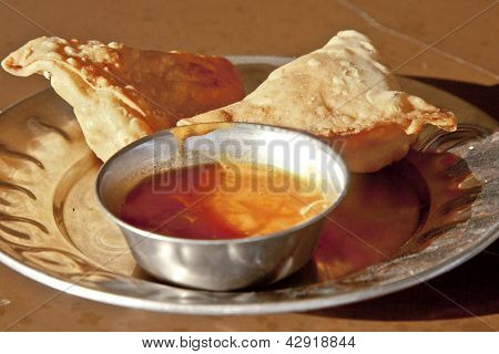Authentic Indian Samosas At Greasy Spoon