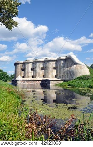 Fifth Fort Of The Brest Fortress, Belarus. Garge Caponier. Fortification Structures.