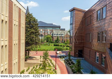 Denver, Colorado - August 4, 2021: University Of Denver In Denver, Colorado