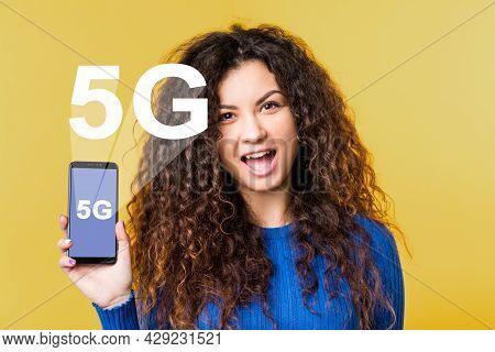 5g Network. Wireless Communication. Mobile Internet. Ict Digital Future. Innovative Technology. Exci