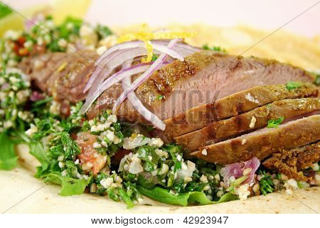 Middle Eastern Lamb