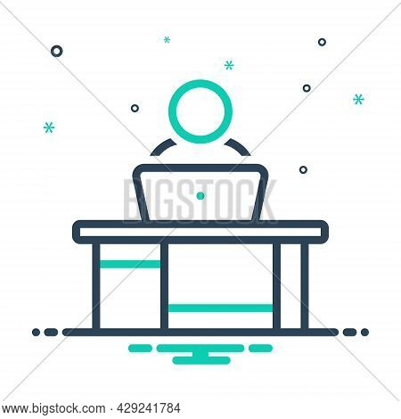 Mix Icon For Task Action Business Doing Mission Reading Task Test Exhaust Oppress Checkmark Communic