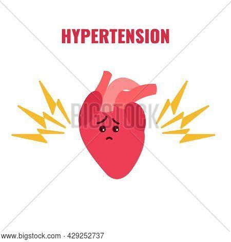 World Hypertension Awareness Day Conceptual Illustration Poster