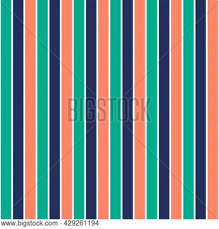 Pattern Stripe Seamless, Sesame Street Green Color Mix With Bellwether Blue And Fresh Salmon Color S