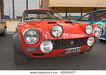 Fiat 124 Abarth Rally