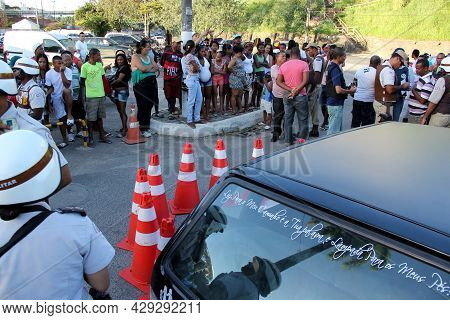 Man Murdered In The Street In Salvador.