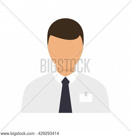 Internship Customer Icon. Flat Illustration Of Internship Customer Vector Icon Isolated On White Bac