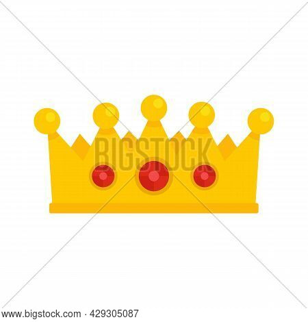 Excellence Crown Icon. Flat Illustration Of Excellence Crown Vector Icon Isolated On White Backgroun