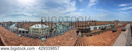 Skyline With Canale Grande In Venice, Italy