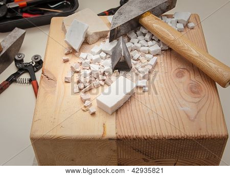 marble cutting