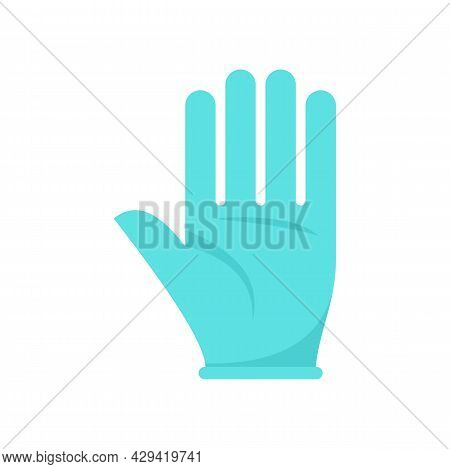 Survival Glove Icon. Flat Illustration Of Survival Glove Vector Icon Isolated On White Background