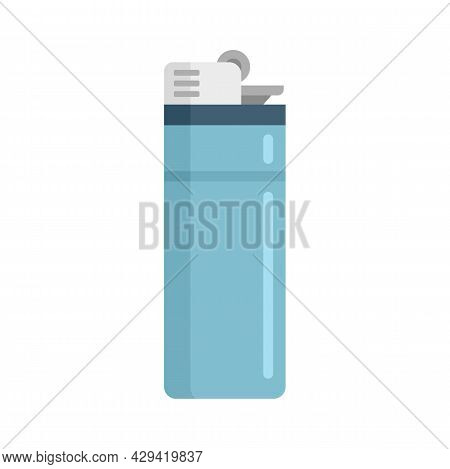 Survival Lighter Icon. Flat Illustration Of Survival Lighter Vector Icon Isolated On White Backgroun