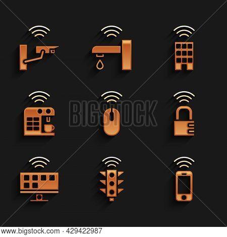 Set Wireless Mouse, Smart Traffic Light, Smartphone, Safe Combination Lock, Tv System, Coffee Machin