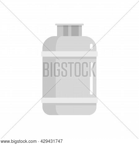 Gas Cylinder Lpg Icon. Flat Illustration Of Gas Cylinder Lpg Vector Icon Isolated On White Backgroun
