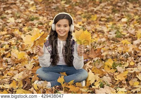 In Love With Nature. Autumn Kid Fashion. Inspiration. Happy Childhood. Back To School. Girl Among Ma