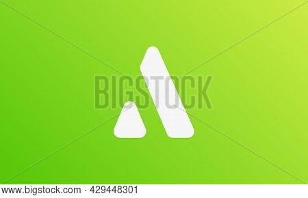 Letter A Logo Design . Abstract Letter A Logo . Modern Letter A Logo Concept . Vector Illustrations
