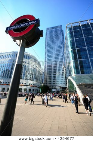 London Underground, Canary Wharf