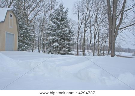 After A Big Snowfall